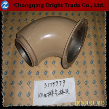 Genuine Exhaust Outlet Connection 3179979 for chongqing cummins k19/kta19 diesel engine parts