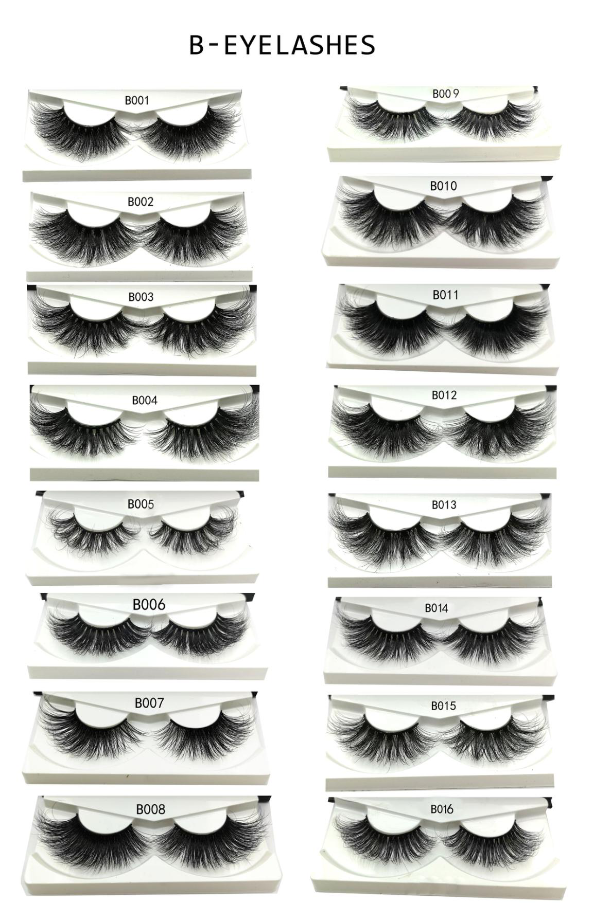 The 25mm 3d mink lashes and custom box eyelashes vendor