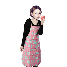 PE plastic eco-friendly cooking apron adult waterproof oilproof aprons