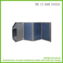 New arrival solar panel 18W power supply for laptop and mobile phones