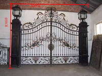 Iron gates models for homes decoration