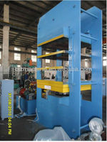 Hydraulic heating plate vulcanizing press