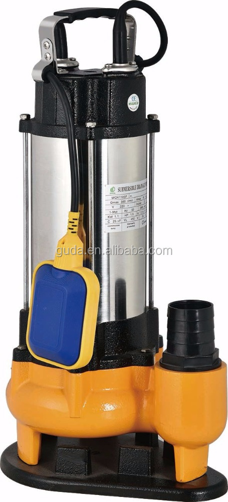 SS Submersible WQV Sewage PUMP