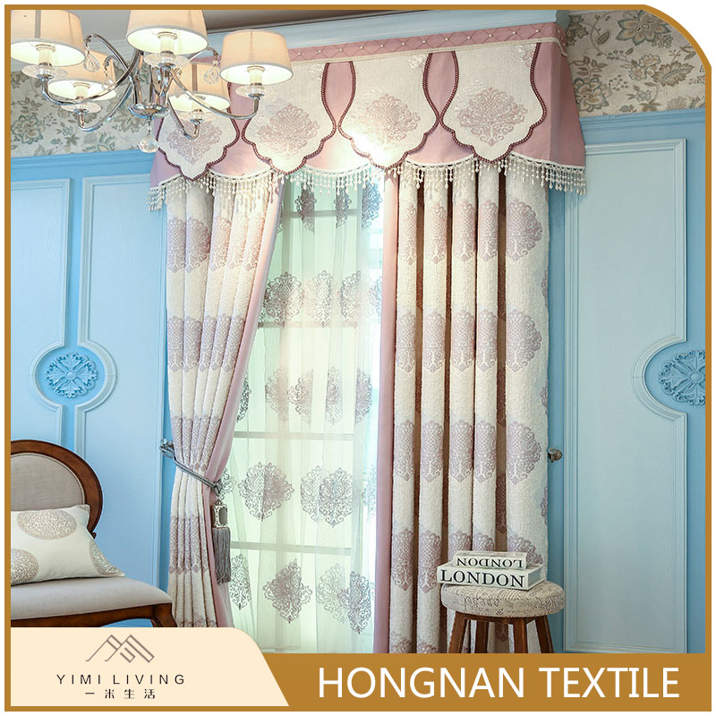 Made in China designer new beautiful polyester very cheap curtains