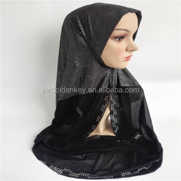 solid color chiffon all kinds of styles hijab/Muslim scarf by CHIFFON