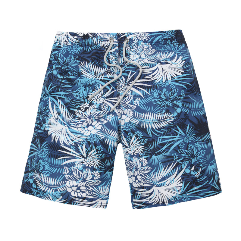 2017 Custom Made Blue and white porcelain printing shorts Board Shorts Mens Swim Trunks