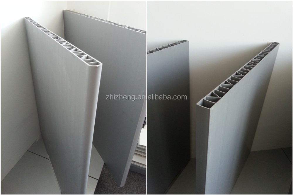 800*30mm high quality upvc doors panel used in pig equipment