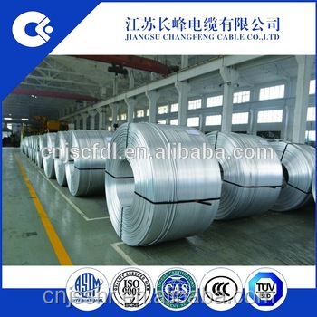 Aluminum rod/wire 6101 T4 9.5mm ASTM-B398