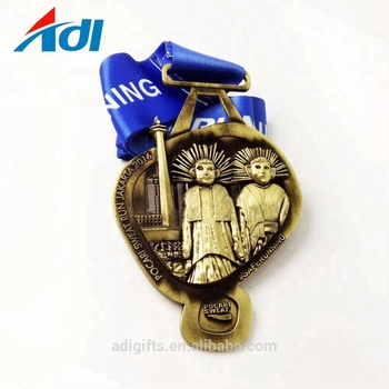 Hot selling custom 3d sport award metal logo hollow medals