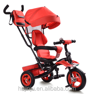 2017 Baby tricycle foldable children trike tricycle 3 wheel stroller