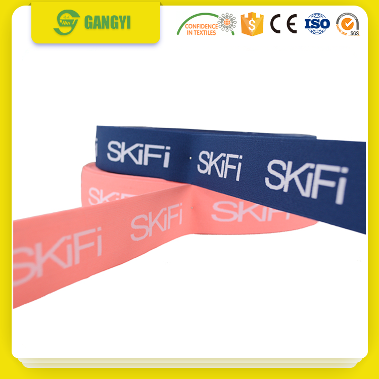 Roll packing spandex flat elastic rubber bands