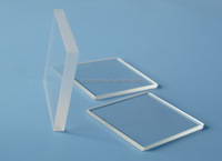 quartz glass sheet/square quartz glass sheet/wafer quartz glass sheet any size you want to cut