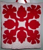 Hawaiian Quilted Pillow - Hibiscus