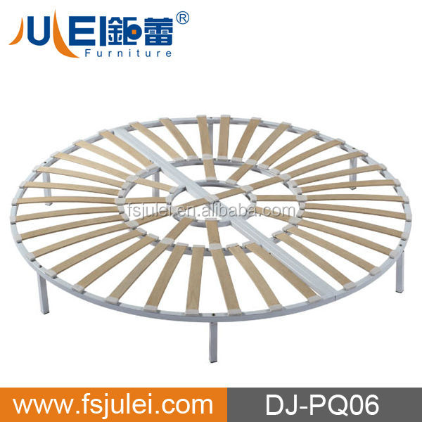 DJ-PQ06 HOT SELL Hotel USED Slatted ROUND Bed