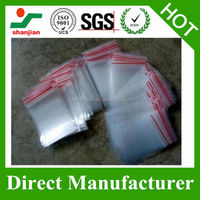 Grip Seal Resealable Self Seal Clear Polythene Plastic Bags