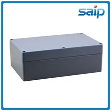 ip67 die cast aluminum box paint spray or dual polish for outdoor use