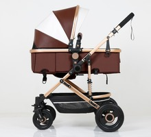 belecoo high quality PU leather material baby stroller 3 fold and very light baby stroller,baby bed,baby trolly