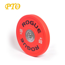 Top Grade competiton Crossfit Bumper rubber weight Plates