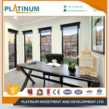Custom wholesale eco-friendly aluminum jalousie window frames