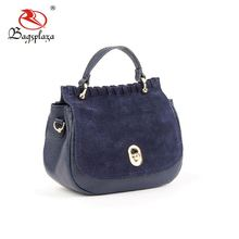 New design low price china factory direct sale no brand real leather handbags