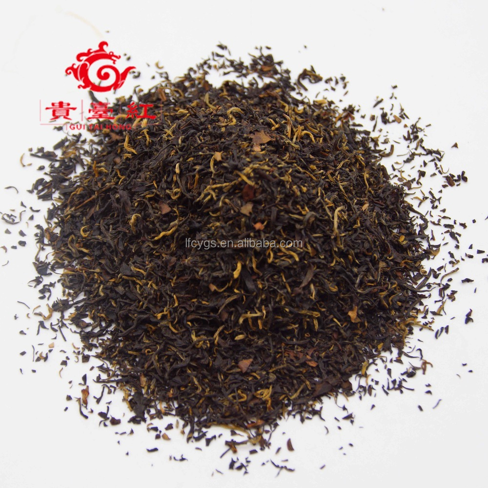 2017 best selling manufacturer supply healthy ctc black tea