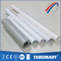 White color PPR pipe for Hot water DIN8077/8078 German standard