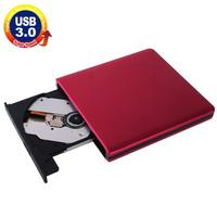 USB 3.0 Aluminum Alloy Portable Optical DVD / CD Rewritable Drive for 12.7mm SATA ODD / HDD, Plug and Play