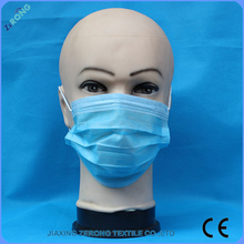 Ear-loop or Tie On 3py layer Non woven Disposable air pollution masks,industrial face mask