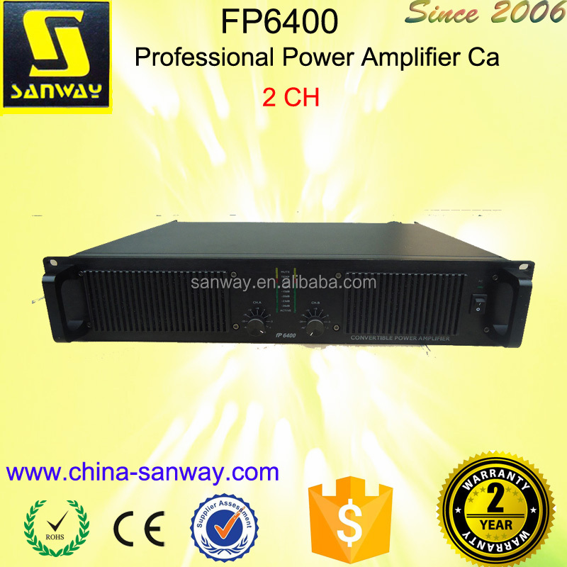 FP-6400 Professional Power Amplifier Ca