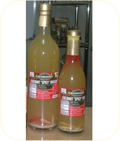 COCONUT HOT & SPICY VINEGAR: made of coconut sap and not from coconut water
