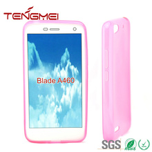 for ZTE A460 well protect case, blank silicone case for ZTE A460