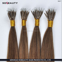 YBY Wholesale price hot sale nano loop hair/ micro bead/ring hair extensions
