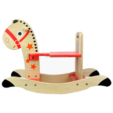 Baby favourites wooden rocking horse kids' wooden rocking horse toy