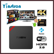 New T95N Mini MX+ Cheap Android 5.1 TV Box S905 Quad Core Bluetooth Wifi Kodi16.0 1G 8G Smart TV Streaming box
