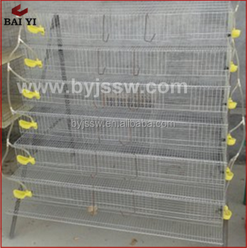 Best Quality Quail Cage (Including Collect Egg Parts)