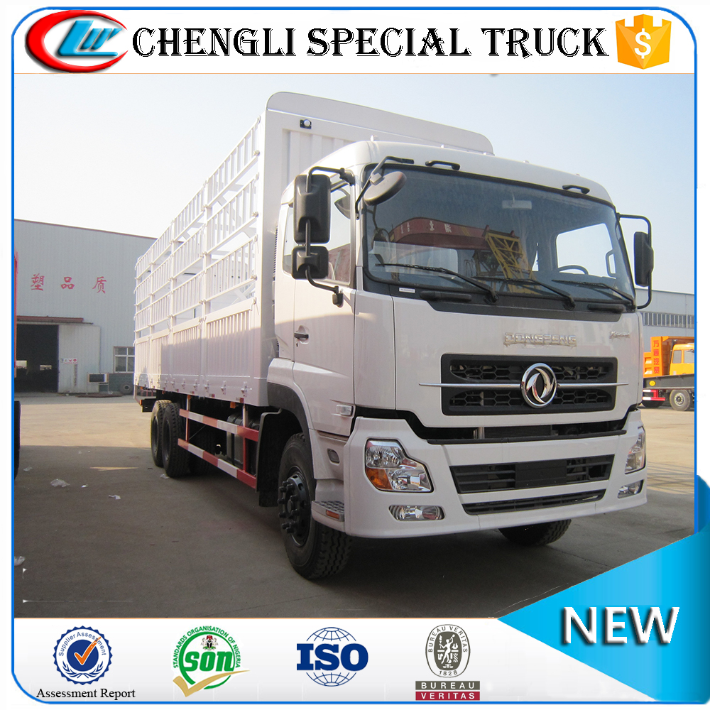 China Dongfeng 6x4 20000l Van Type Delivery Truck payload 20ton 25ton 30ton for sale