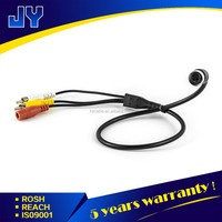 car camera aviation din s-video 4-pin 2 rca video cable