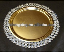 CP002 charger plate for wedding decoration