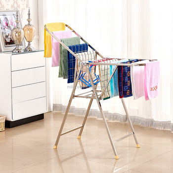 Folding Clothes Drying Rack Stainless Steel