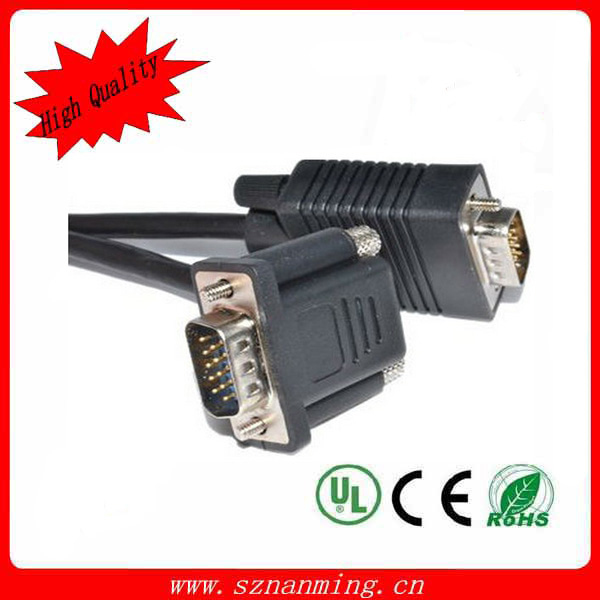 Eco-Friendly Custom length .vga flat cable