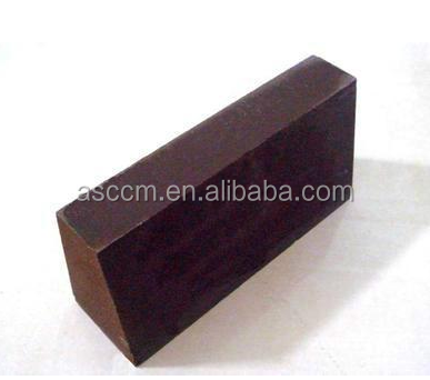 direct bonded magnesia chrome refractory brick for ladle and secondary refining furnace