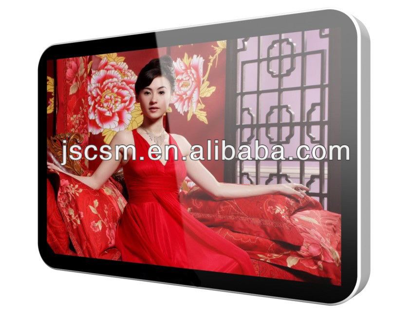 cheap 22 inch advertising display led tv with HD display (android model available)
