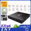 ENYBOX Amlogic S905X android 6.0 tv box EX96 box tv android root access android smart tv box