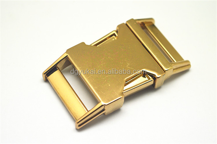 2016 New design side release metal buckle for bags and handbag
