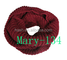Wrapables Thick Knitted Winter Warm Infinity Scarf (Mary-134)