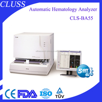 CLS-BA55 fully automatic lab equipment used function of hematology analyzer
