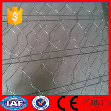 ISO High Quality PVC Coated Hot Dipped Galvanized Hexagonal Wire Mesh 10mm