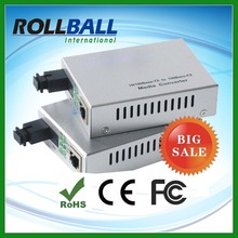 Nice price optical fiber cpe media converter