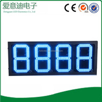 hot16inch 7 segment electronics regular diesel wireless wifi gas station led sign board price