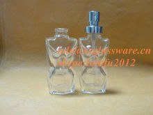 15ml lady body shape perfume glass bottle with sprayer
